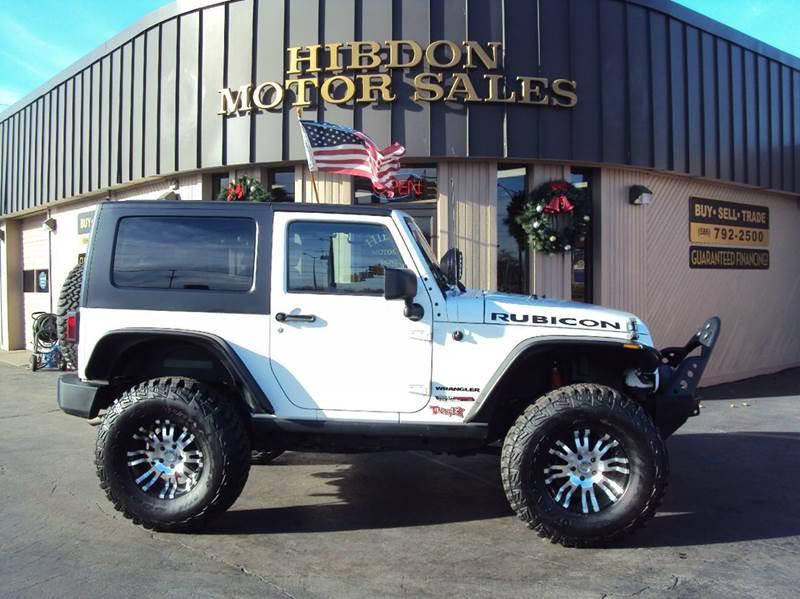 2010 Jeep Wrangler for sale at Hibdon Motor Sales in Clinton Township MI