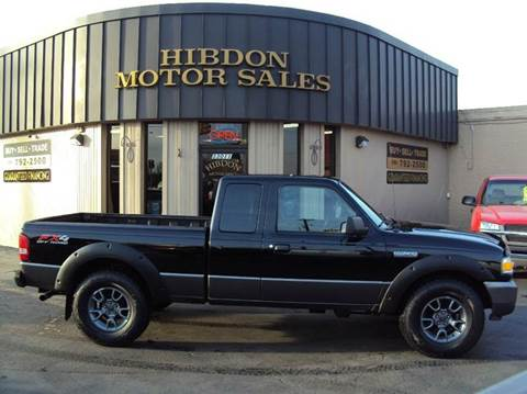 2009 Ford Ranger for sale at Hibdon Motor Sales in Clinton Township MI