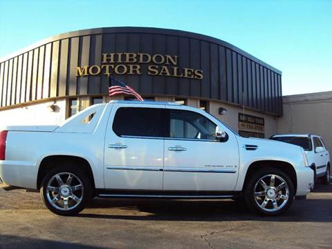 2008 Cadillac Escalade EXT for sale at Hibdon Motor Sales in Clinton Township MI