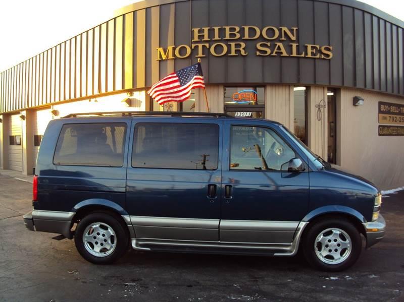 2004 Chevrolet Astro for sale at Hibdon Motor Sales in Clinton Township MI