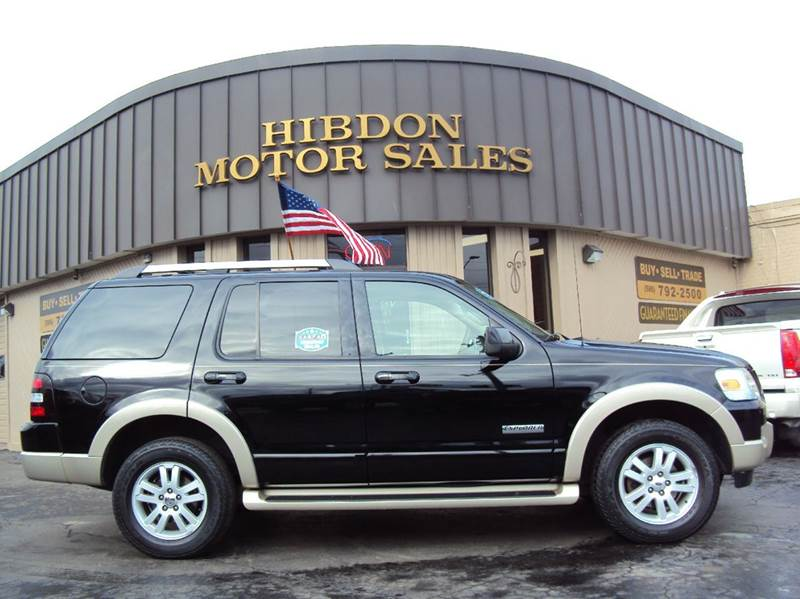 2007 ford explorer eddie bauer in clinton twp mi hibdon motor sales. Black Bedroom Furniture Sets. Home Design Ideas