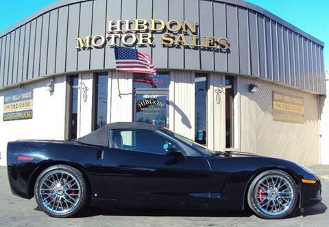 2007 Chevrolet Corvette for sale at Hibdon Motor Sales in Clinton Township MI