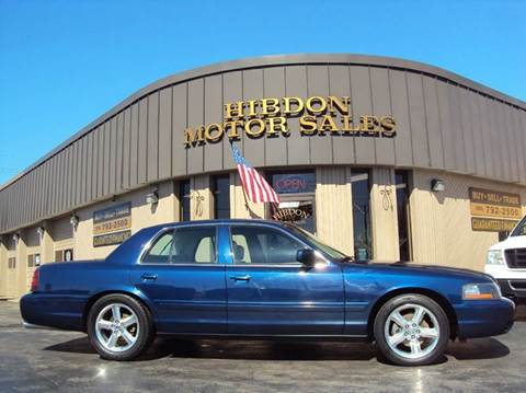 2003 Mercury Marauder for sale at Hibdon Motor Sales in Clinton Township MI