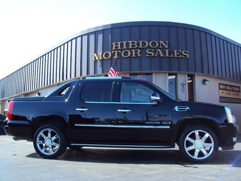 2008 Cadillac Escalade EXT for sale at Hibdon Motor Sales in Clinton Township MI