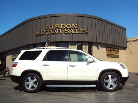 2010 GMC Acadia for sale at Hibdon Motor Sales in Clinton Township MI