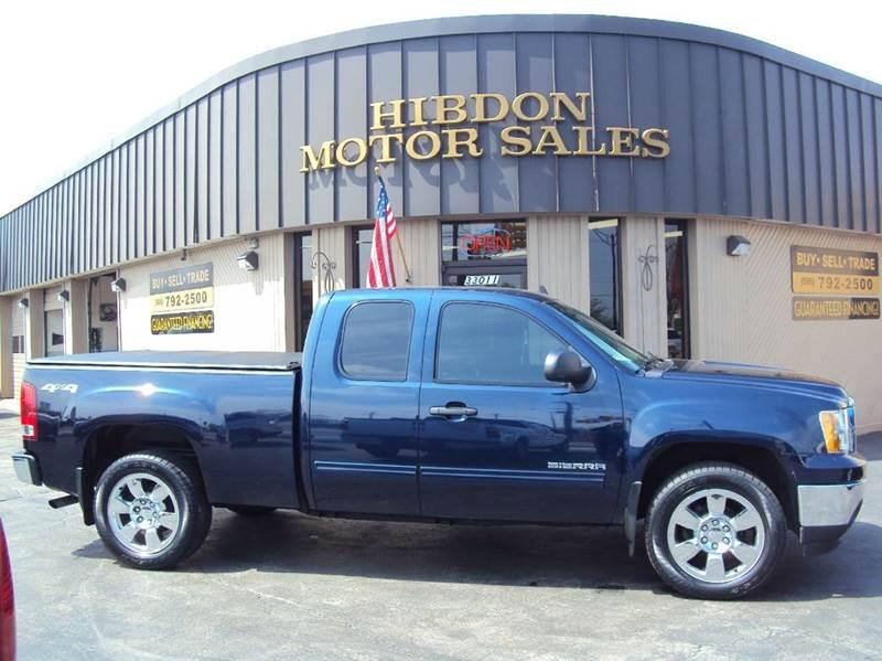 2011 GMC Sierra 1500 for sale at Hibdon Motor Sales in Clinton Township MI