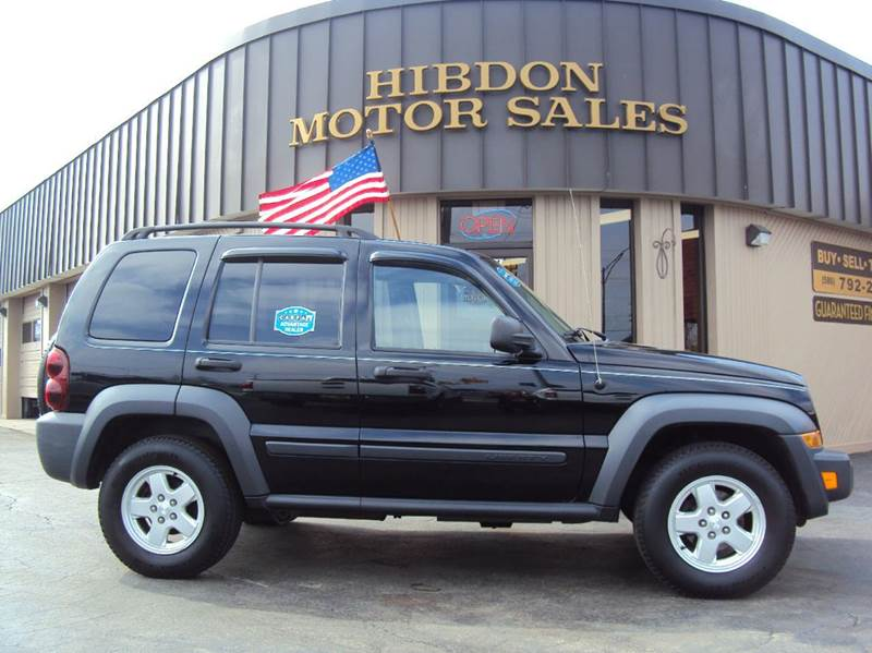 2007 Jeep Liberty For Sale At Hibdon Motor Sales In Clinton Twp MI