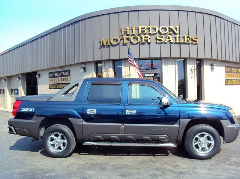 2004 Chevrolet Avalanche for sale at Hibdon Motor Sales in Clinton Township MI