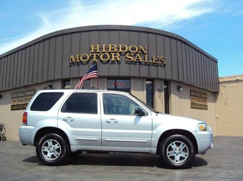 2005 Ford Escape for sale at Hibdon Motor Sales in Clinton Township MI