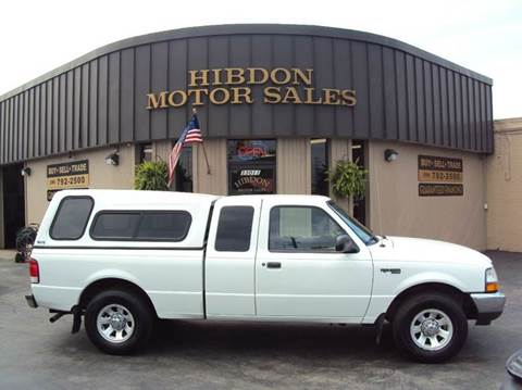 2000 Ford Ranger for sale at Hibdon Motor Sales in Clinton Township MI