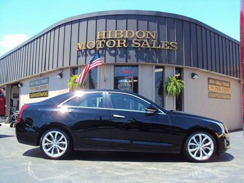 2014 Cadillac ATS for sale at Hibdon Motor Sales in Clinton Township MI