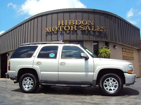 2005 Chevrolet Tahoe for sale at Hibdon Motor Sales in Clinton Township MI