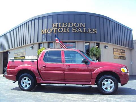 2004 Ford Explorer Sport Trac for sale at Hibdon Motor Sales in Clinton Township MI
