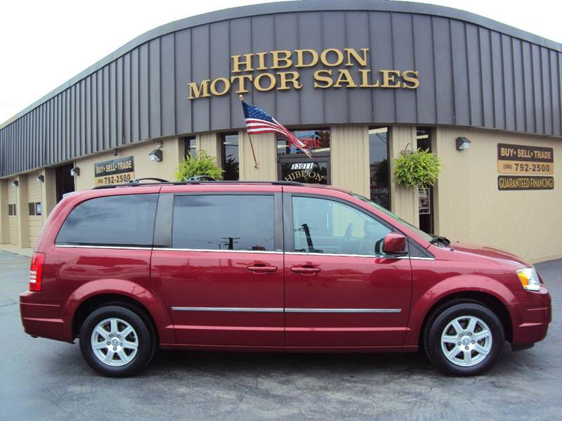 2010 Chrysler Town and Country for sale at Hibdon Motor Sales in Clinton Township MI