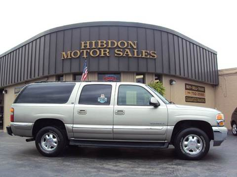 2001 GMC Yukon XL for sale at Hibdon Motor Sales in Clinton Township MI