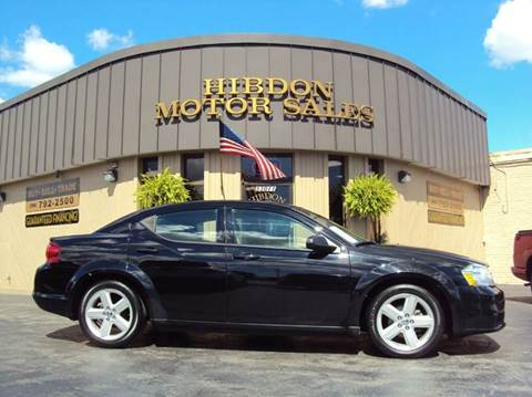 2013 Dodge Avenger for sale at Hibdon Motor Sales in Clinton Township MI