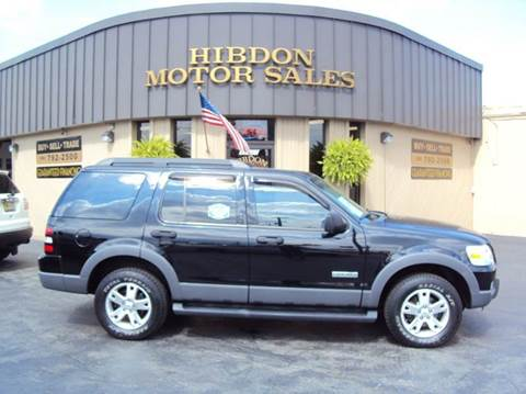 2006 Ford Explorer for sale at Hibdon Motor Sales in Clinton Township MI