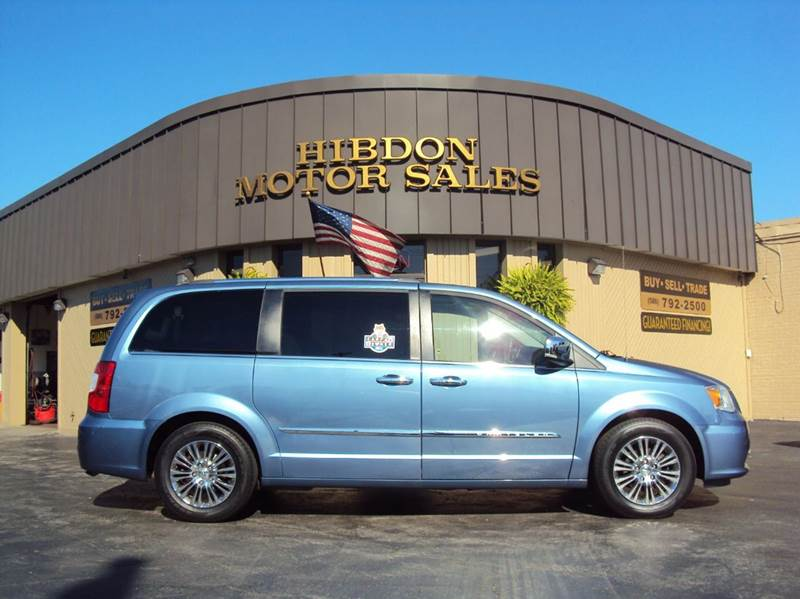 2011 Chrysler Town and Country for sale at Hibdon Motor Sales in Clinton Township MI