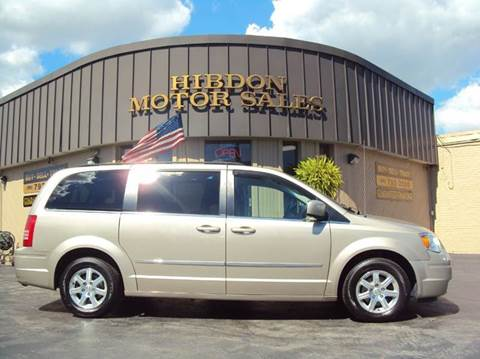 2009 Chrysler Town and Country for sale at Hibdon Motor Sales in Clinton Township MI