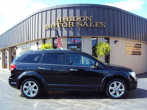 2010 Dodge Journey for sale at Hibdon Motor Sales in Clinton Township MI