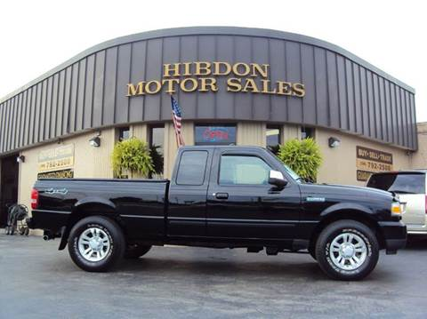 2010 Ford Ranger for sale at Hibdon Motor Sales in Clinton Township MI