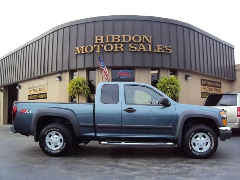 2006 Chevrolet Colorado for sale at Hibdon Motor Sales in Clinton Township MI