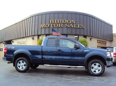 2004 Ford F-150 for sale at Hibdon Motor Sales in Clinton Township MI