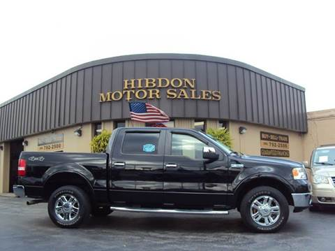 2008 Ford F-150 for sale at Hibdon Motor Sales in Clinton Township MI
