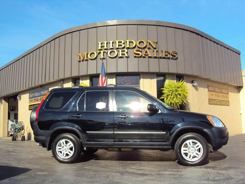 2004 Honda CR-V for sale at Hibdon Motor Sales in Clinton Township MI
