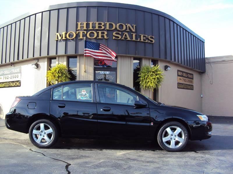 2006 Saturn Ion 3 In Clinton Twp Mi Hibdon Motor Sales