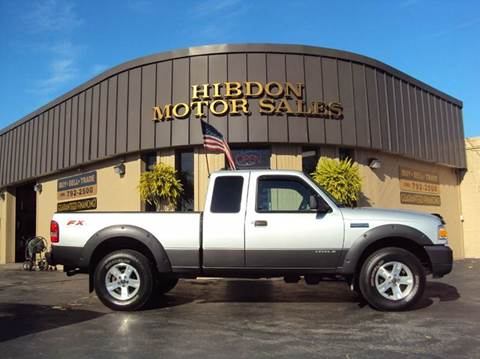 2007 Ford Ranger for sale at Hibdon Motor Sales in Clinton Township MI