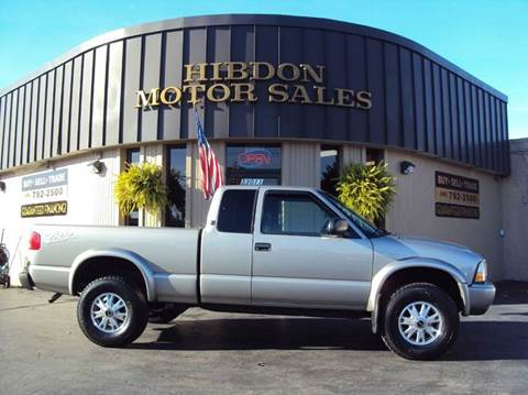 2003 GMC Sonoma for sale at Hibdon Motor Sales in Clinton Township MI