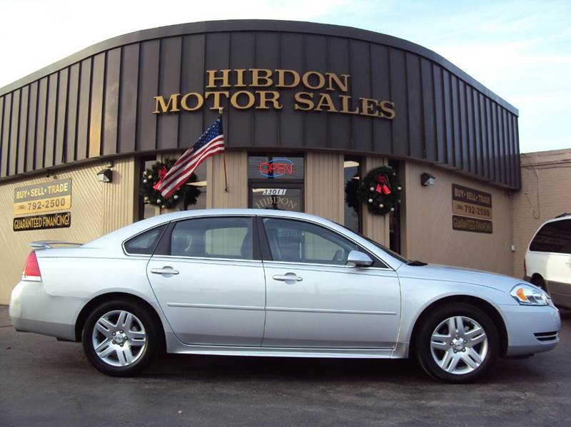 2013 Chevrolet Impala for sale at Hibdon Motor Sales in Clinton Township MI