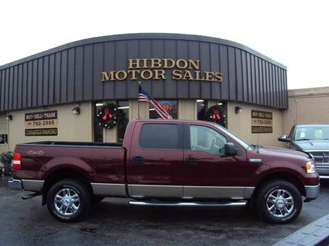 2006 Ford F-150 for sale at Hibdon Motor Sales in Clinton Township MI