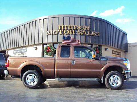 2012 Ford F-250 Super Duty for sale at Hibdon Motor Sales in Clinton Township MI