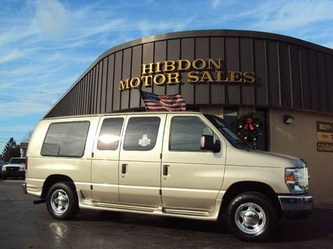 2008 Ford E-Series  for sale at Hibdon Motor Sales in Clinton Township MI