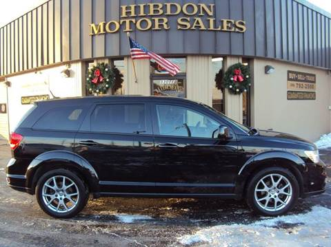 2011 Dodge Journey for sale at Hibdon Motor Sales in Clinton Township MI