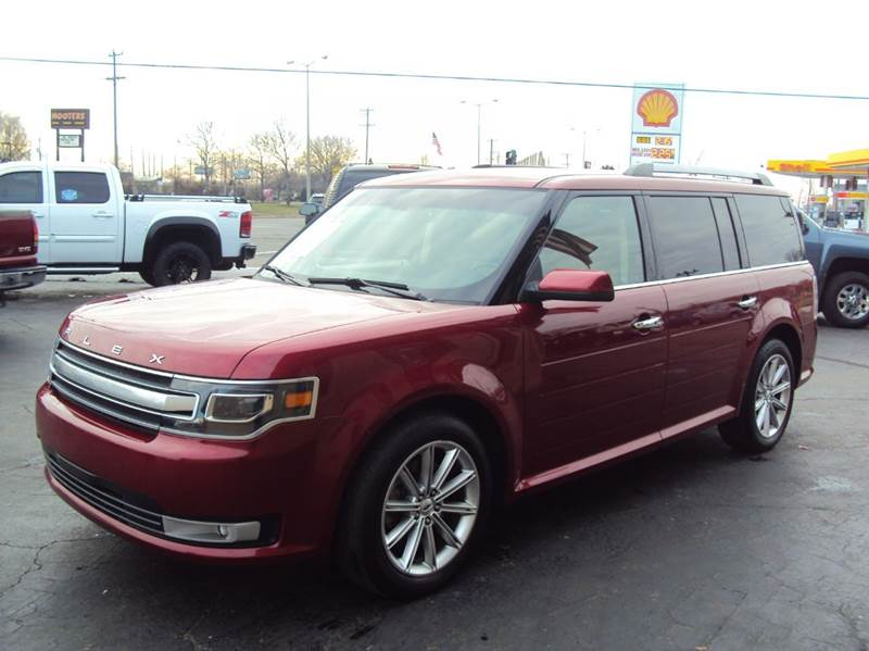 2014 Ford Flex AWD Limited 4dr Crossover - Clinton Twp MI