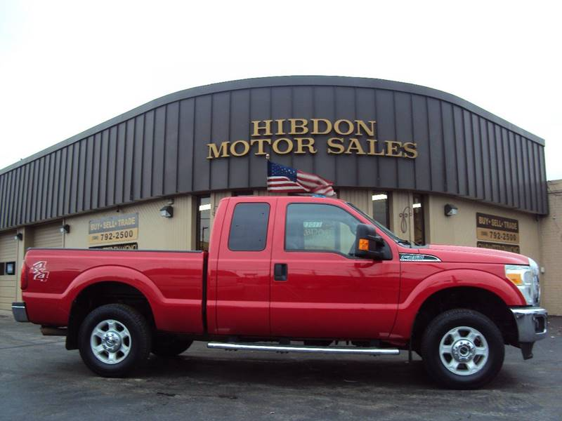 2014 Ford F-250 Super Duty 4x4 XLT 4dr SuperCab 6.8 ft. SB Pickup - Clinton Twp MI