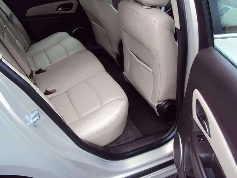 2012 Chevrolet Cruze LT 4dr Sedan w/2LT - Clinton Twp MI