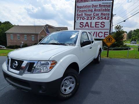 2017 Nissan Frontier for sale at Rons Auto Sales INC in Lawrenceville GA