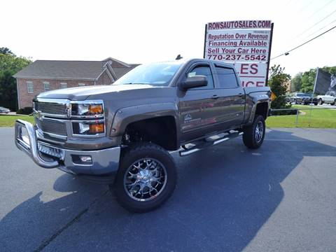 2015 Chevrolet Silverado 1500 for sale at Rons Auto Sales INC in Lawrenceville GA
