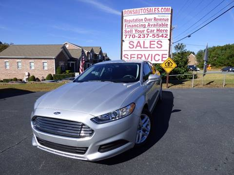 2015 Ford Fusion for sale in Lawrenceville, GA
