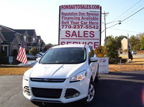 2014 Ford Escape for sale at Rons Auto Sales INC in Lawrenceville GA