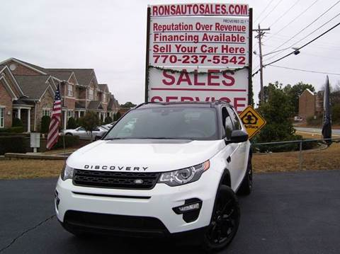 2016 Land Rover Discovery Sport for sale at Rons Auto Sales INC in Lawrenceville GA