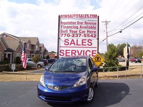 2013 Honda Fit for sale at Rons Auto Sales INC in Lawrenceville GA