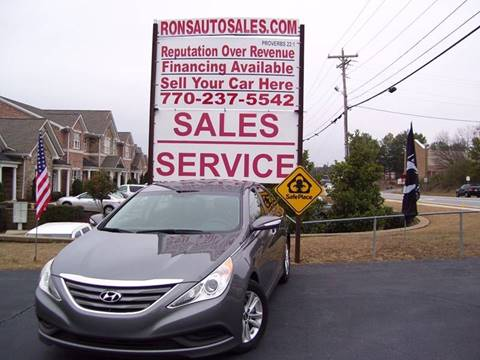 2014 Hyundai Sonata for sale at Rons Auto Sales INC in Lawrenceville GA