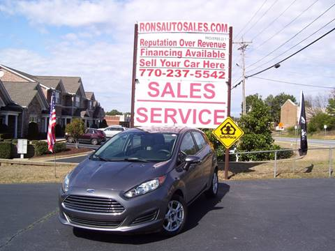 2014 Ford Fiesta for sale at Rons Auto Sales INC in Lawrenceville GA