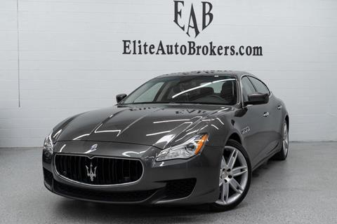 2015 Maserati Quattroporte for sale in Gaithersburg, MD