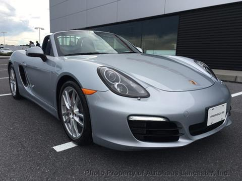 2015 Porsche Boxster for sale in Lancaster, PA